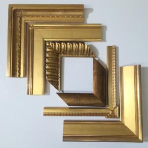 Frame Styles - Gold-leaf/ Gold Frames
